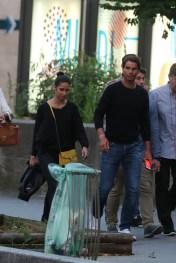 Rafael Nadal and girlfriend Maria Francisca Perello in Paris 2018