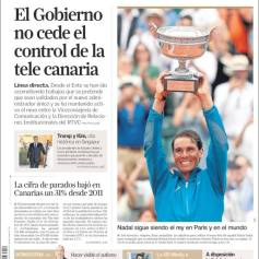 Rafael Nadal on front pages of newspapers across globe (3)
