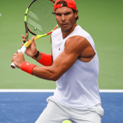 Rafael Nadal practices in New York City 2018 US Open photo (7)