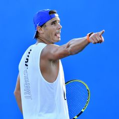 EPA2217. BRISBANE (AUSTRALIA), 02/01/2019.- El tenista español Rafael Nadal entrena en una de las pistas del Centro de Tenis de Queensland en Brisbane (Australia) hoy, 2 de enero de 2019. El tenista prepara su participación en el torneo internacional de tenis de Brisbane. EFE/ Darren England SOLO USO EDITORIAL PROHIBIDO SU USO EN AUSTRALIA Y NUEVA ZELANDA