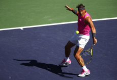 Rafael Nadal reaches Indian Wells quarterfinals in straight sets (15)