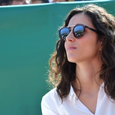 Maria Francisca Perello, la fiancée de Rafael Nadal, durant la rencontre Rafael Nadal contre Roberto Bautista Agut sur le court Rainier III durant le Rolex Monte Carlo Masters 2019 ŕ Roquebrune Cap Martin, le 17 avril 2019. Rafael Nadal s'est qualifié en battant son compatriote 6-1 / 6-1. © Bruno Bebert / Bestimage Nadal vs Agut (6-1 / 6-1)during Monte Carlo Rolex Masters 2019 at Roquebrune Cap Martin on april 17th 209, Image: 426570102, License: Rights-managed, Restrictions: , Model Release: no, Credit line: Profimedia, Bestimages