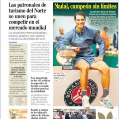 Rafael Nadal's Roland Garros Victory On Newspaper Front Pages (24)