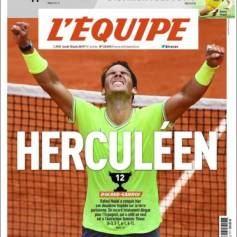 Rafael Nadal's Roland Garros Victory On Newspaper Front Pages (6)