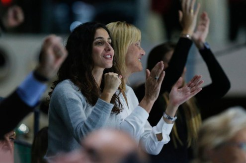 Rafael Nadal wife Maria Francisca Perello 2019 Davis Cup in Madrid (3)