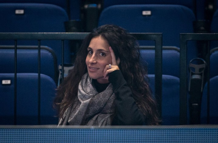 Xisca Perell wife of Rafa NADAL during practice at the Nitto ATP, Tennis Herren Finals Tennis London MEDIA DAY at the O2, London, England on 8 November 2019. PUBLICATIONxNOTxINxUK Copyright: xAndyxRowlandx PMI-3189-0032