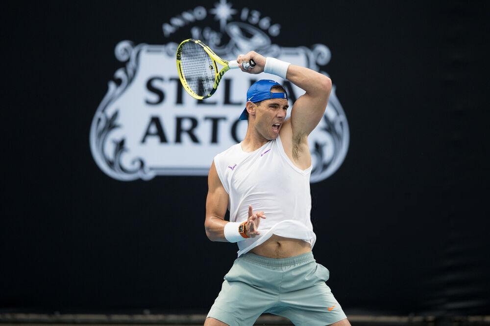 ATP Cup 2020: Thursday practice photos - Rafael Nadal Fans