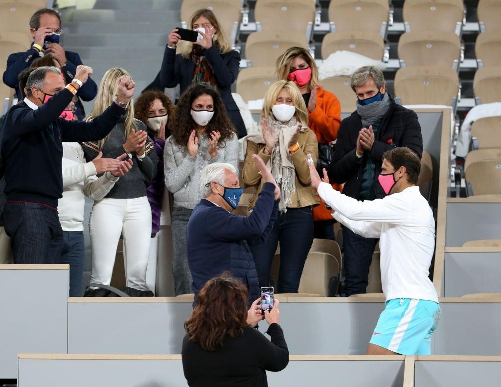 Photos Rafael Nadal Celebrates With Family After Winning Roland Garros Rafael Nadal Fans