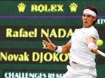 Nadal tente un troisième doublé Roland-Garros/Wimbledon. Cela passe par une victoire contre Novak Djokovic. Le duel inévitable a lieu en finale. Cinquième finale de l'année 2011 entre les deux joueurs et cinquième victoire de Nole, qui s'empare de la place de numéro un mondial.