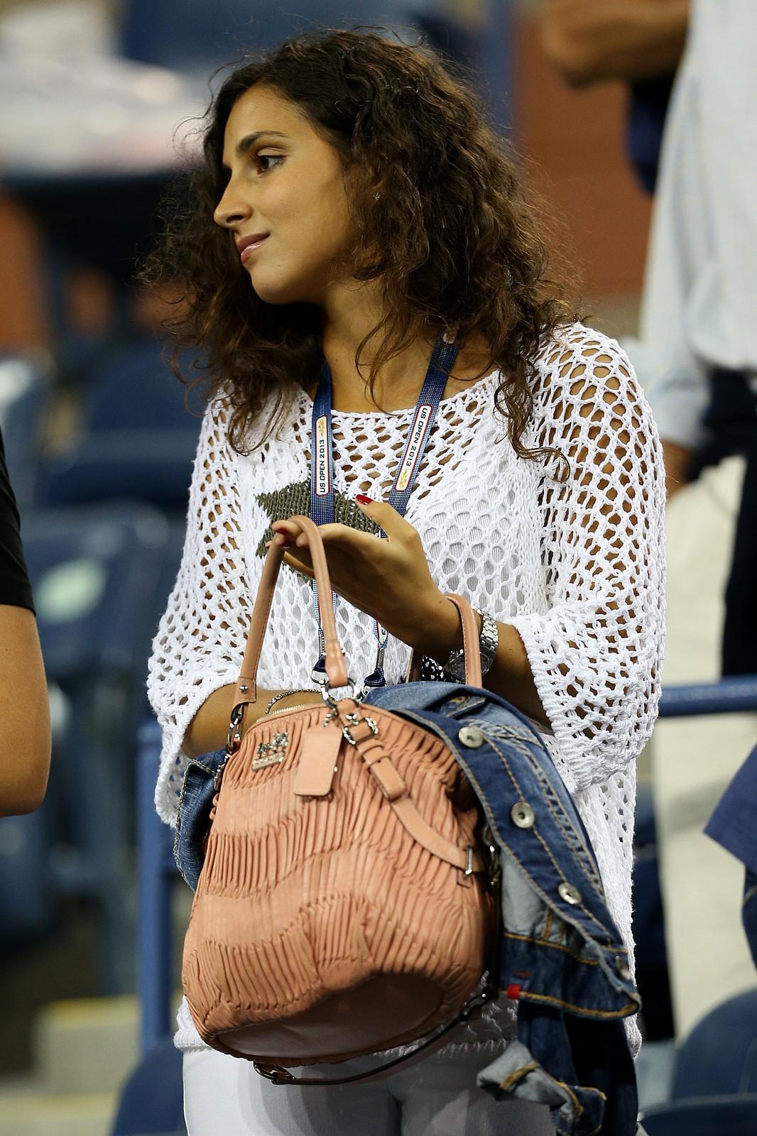 Maria Francisca Perello cheers on Rafael Nadal in New York ...