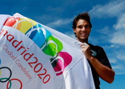 Rafael Nadal supports Madrid 2020 bid from the US Open (5)