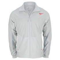 NIKE Men's Premier Rafa Tennis Jacket Light Base Gray (Photo: TennisExpress.com)