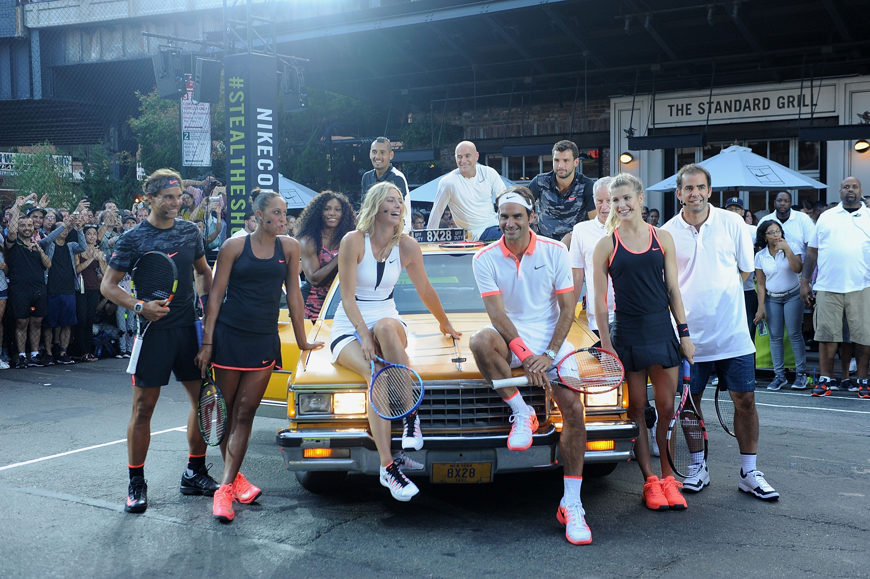 nick kyrgios and eugenie bouchard flirting Canadian tennis beauty eugenie bouchard has pulled out of the doubles tournaments after injuring her head in a locker room fall following her famously flirty match with nick kyrgios last night.
