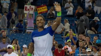 Rafael Nadal marches into round tree of Cincinnati Open after beating Jeremy Chardy (1)