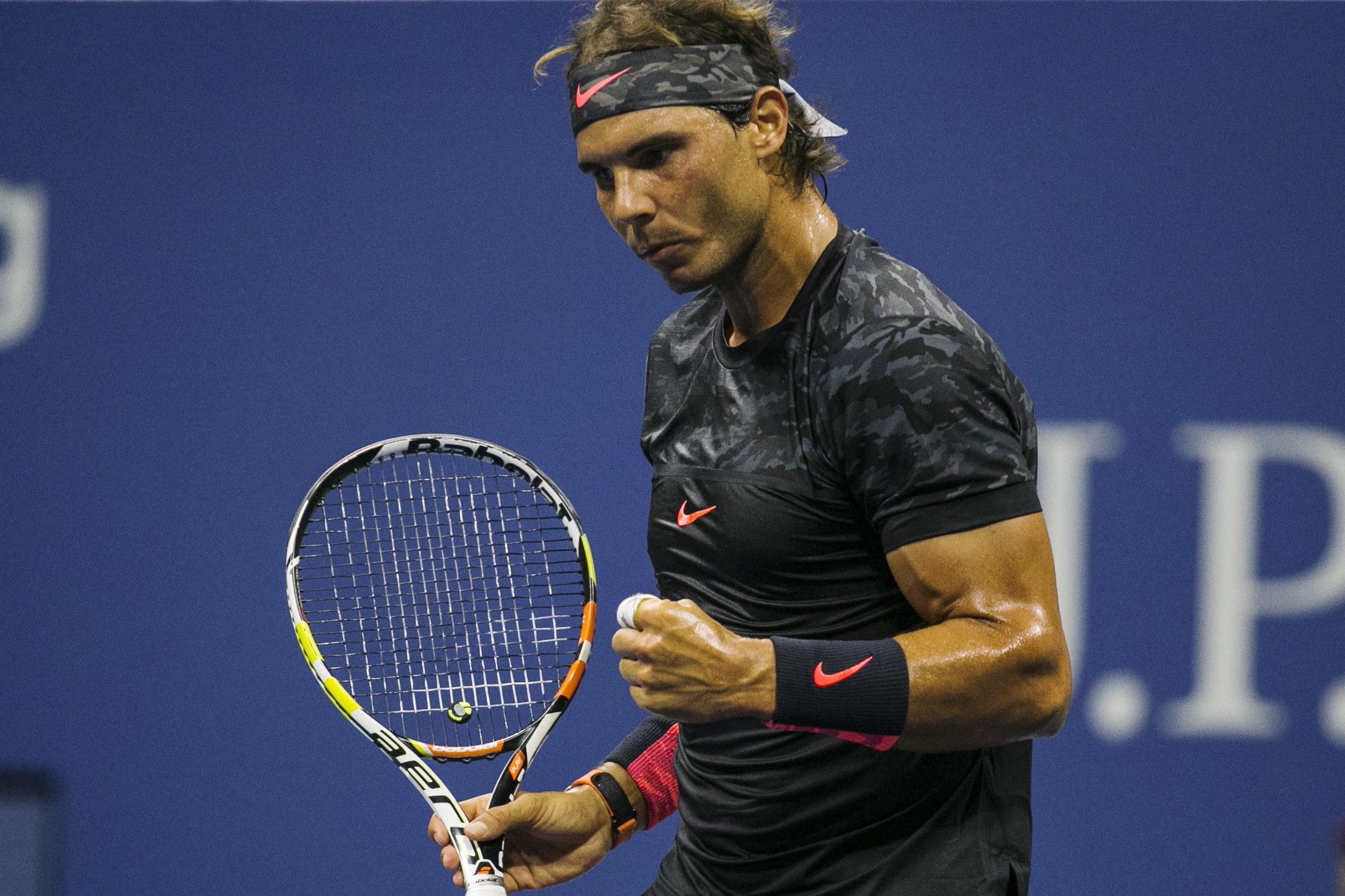 PHOTOS Rafael Nadal Beats Borna Coric To Move Into US