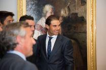 Rafael Nadal Poses Before Davis Cup Dinner (23)