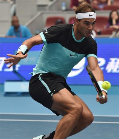 Rafael Nadal beats Wu Di at China Open 2015 (1)