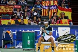Rafael Nadal into Shanghai Masters quarter finals after beating Milos Raonic (7)