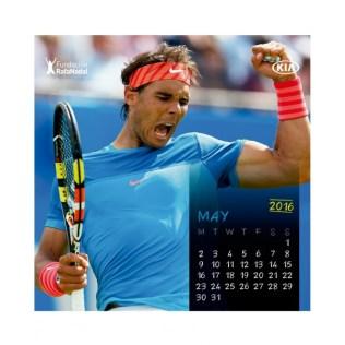 Rafael Nadal Calendar 2016 (7)