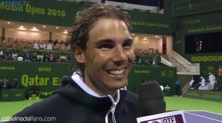 Rafael Nadal beats Andrey Kuznetsov to reach Qatar Open semi-finals 2016
