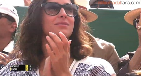 Rafael Nadal girlfriend Maria Francisca Perello at Monte Carlo Masters final 2016