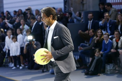 ?? competes during the Tommy Hilfiger Hosts Tommy X Nadal Party - Tennis Soccer Match on May 18, 2016 in Paris, France.