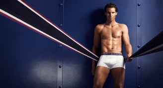 Rafael Nadal shows off his insane body in Tommy Hilfiger underwear