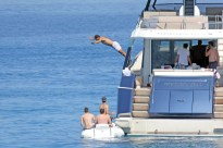 Rafael Nadal short holiday on yacht in Spain (10)