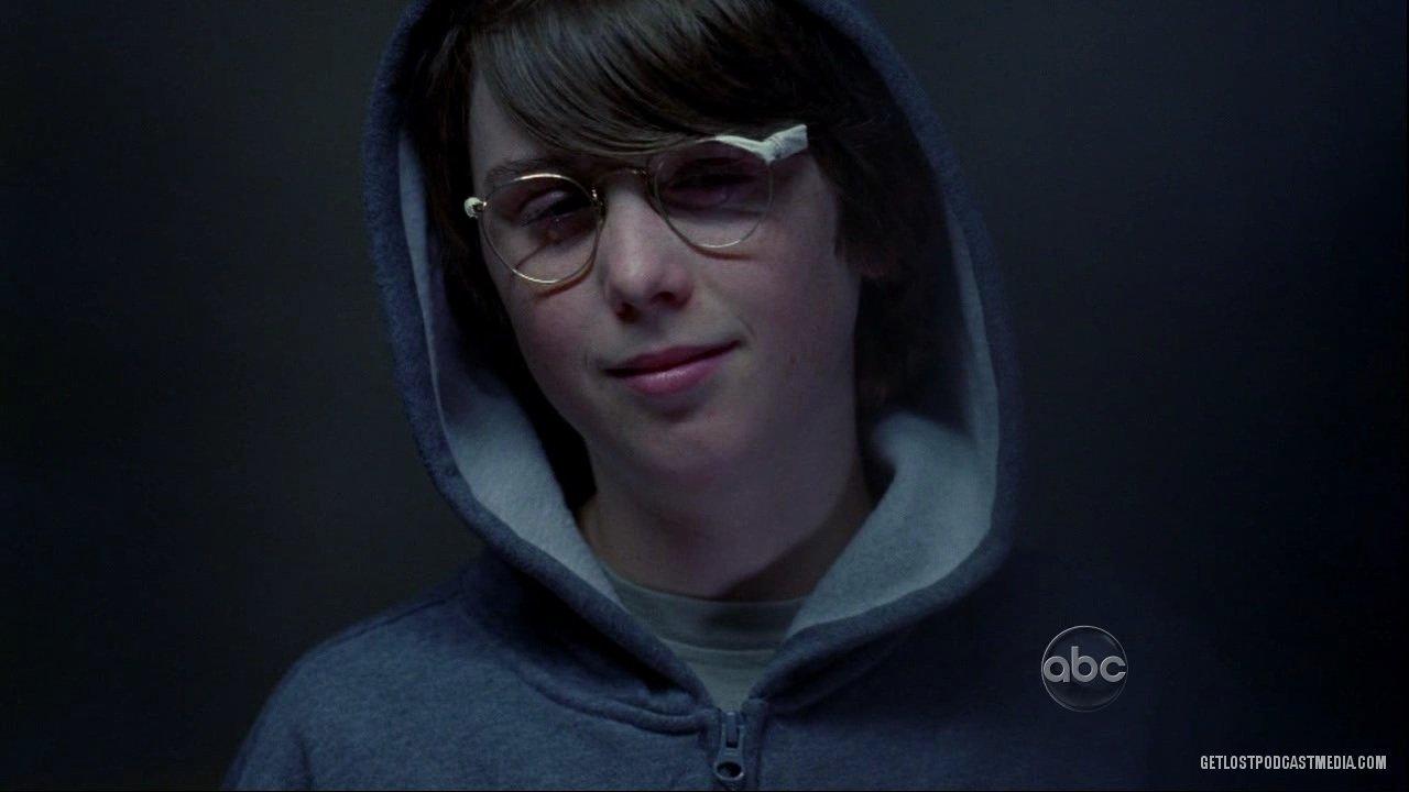 Little Benjamin with broken glasses.