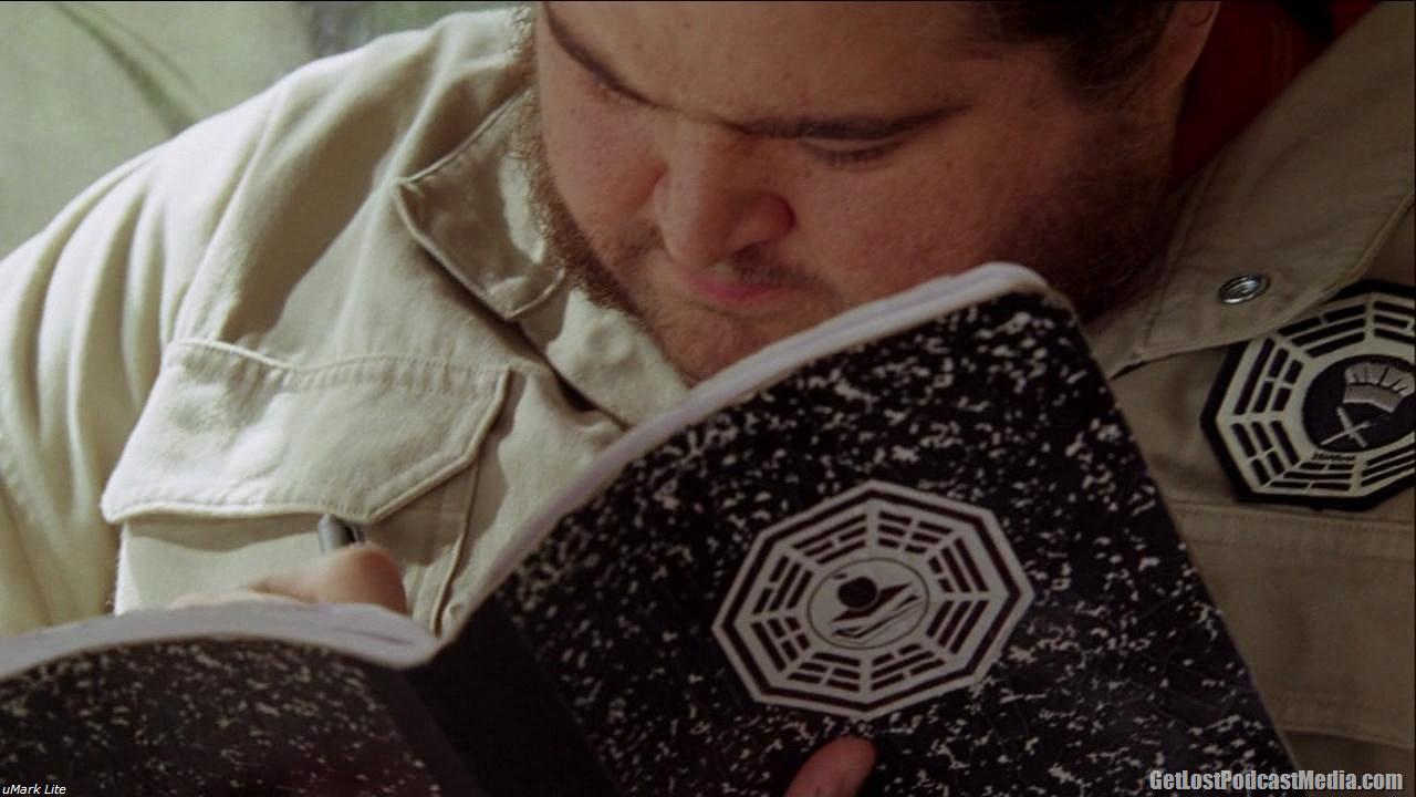 Hurley escrendo o plot de Star Wars: O Império Contra Ataca