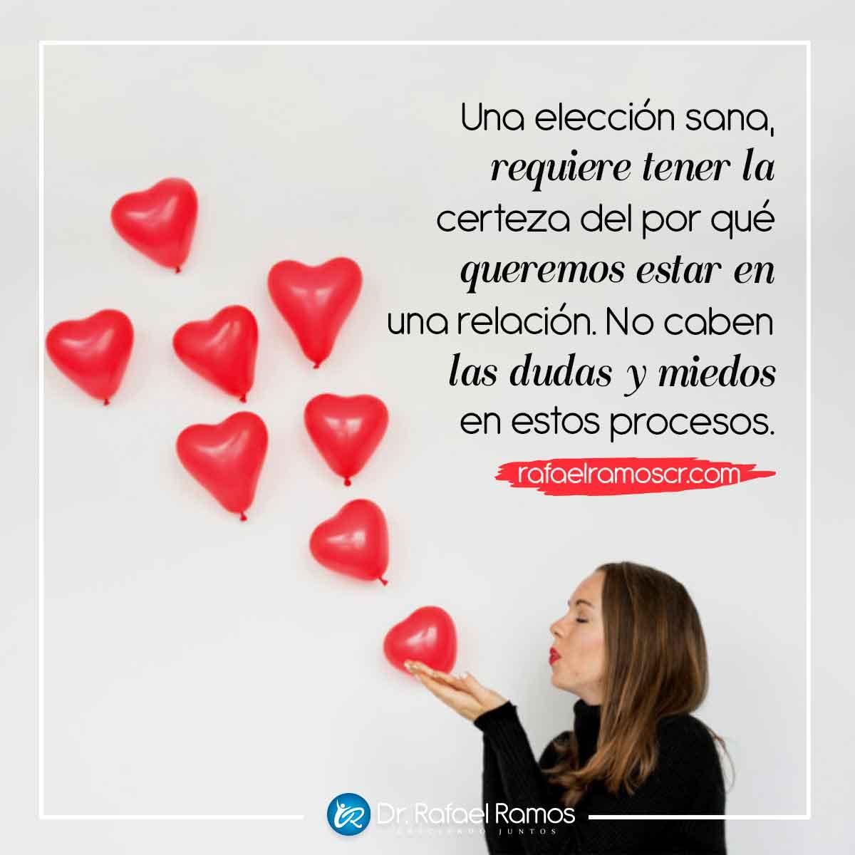 En el amor no caben las dudas