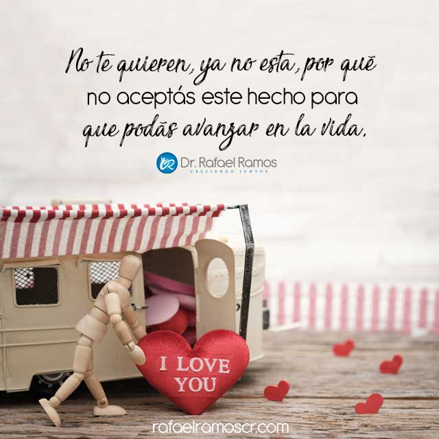 Si no te aman, no rogués, tomá decisiones