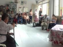 Reunión en Guayaba de Siquima