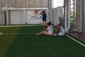 evoluZiona Colombia Team, jugando futbol de canchita
