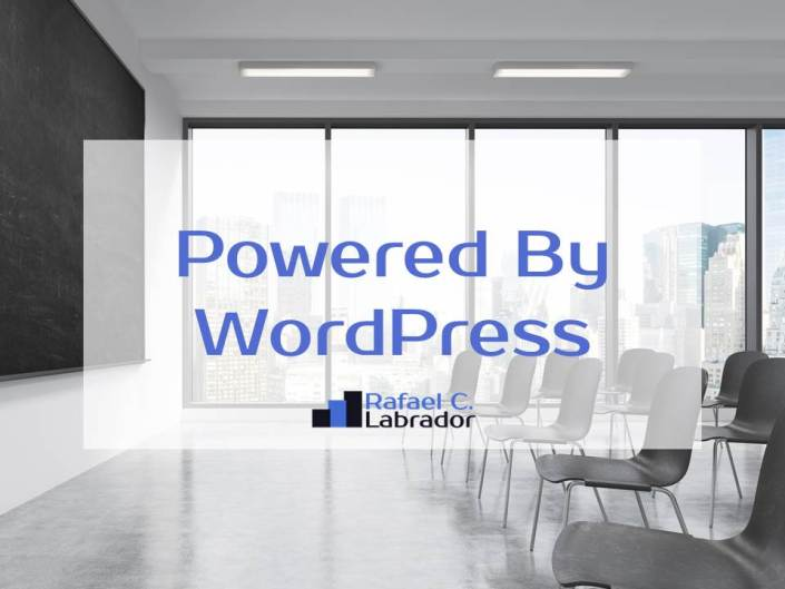 Quitar Powered By WordPress