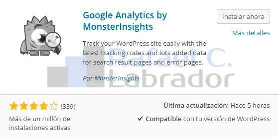 Google Analytics by MonsterInsights