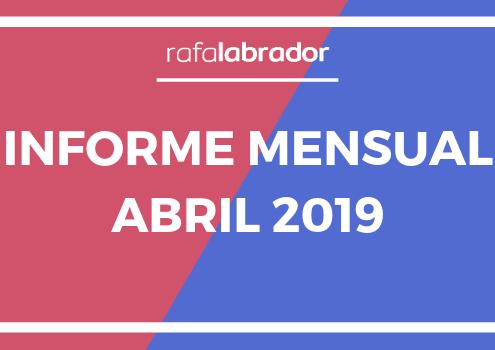 Informe mensual abril 2019