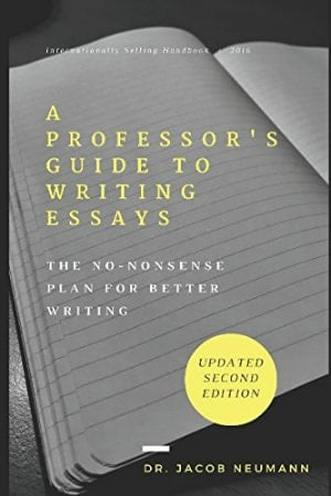A Professor's Guide to Writing Essays cover