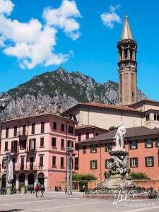 Lecco - centrum miasta