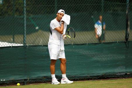 Tennis - Wimbledon - London, Britain - July 6, 2017 Spain's Rafael Nadal during a practice session REUTERS/Andrew Couldridge