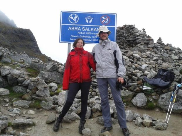 Salkantay trek: il punto più alto del trekking m.4650