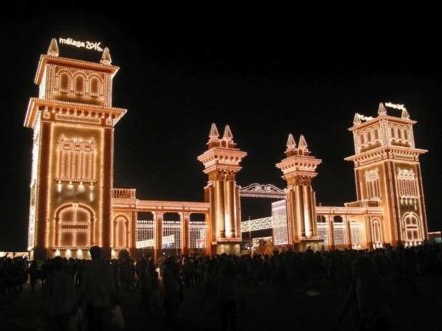 Vivere a Malaga: La Feria de noche