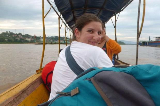 Confine tra Thailandia e Laos