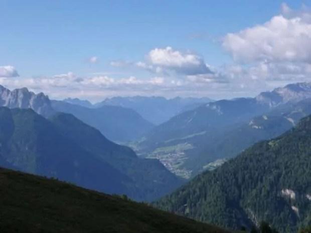 Vacanze in Val Gardena: La Val Gardena dal Rifugio Comici