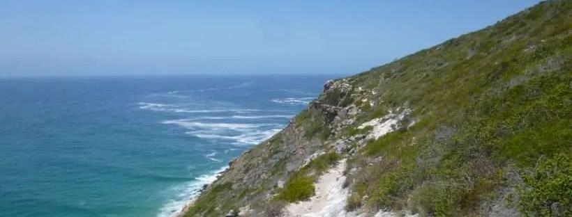 Trekking nella Robberg Nature Reserve in Sudafrica