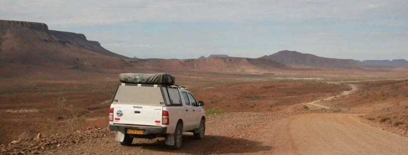 Damaraland on the road