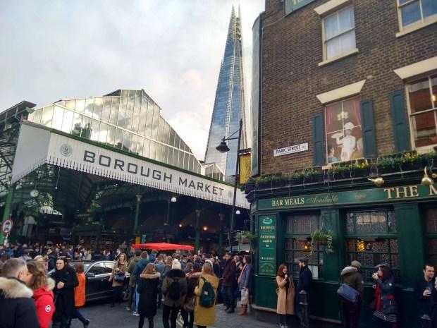 Borough Market - weekend a Londra