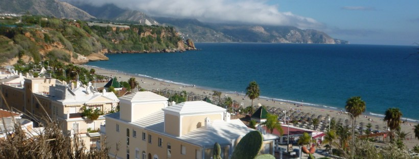 Playa Burriana a Nerja