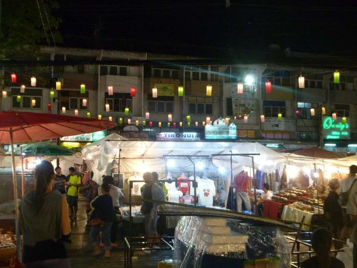 Night Market a Luang Prabang
