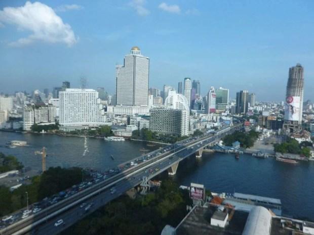 Vista su Bangkok
